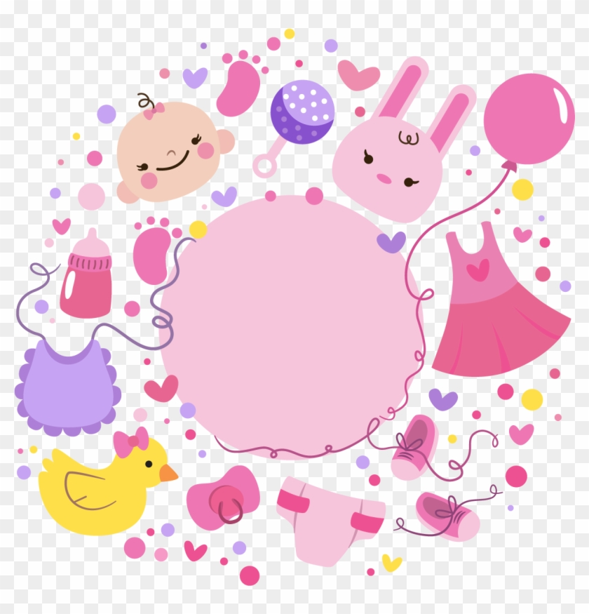 Baby Shower Party Birthday Greeting Card Babyparty Spiele Free