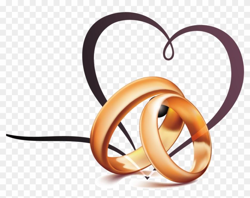 Wedding Ring Diamond Jewellery - Heart Wedding Ring Png #363481