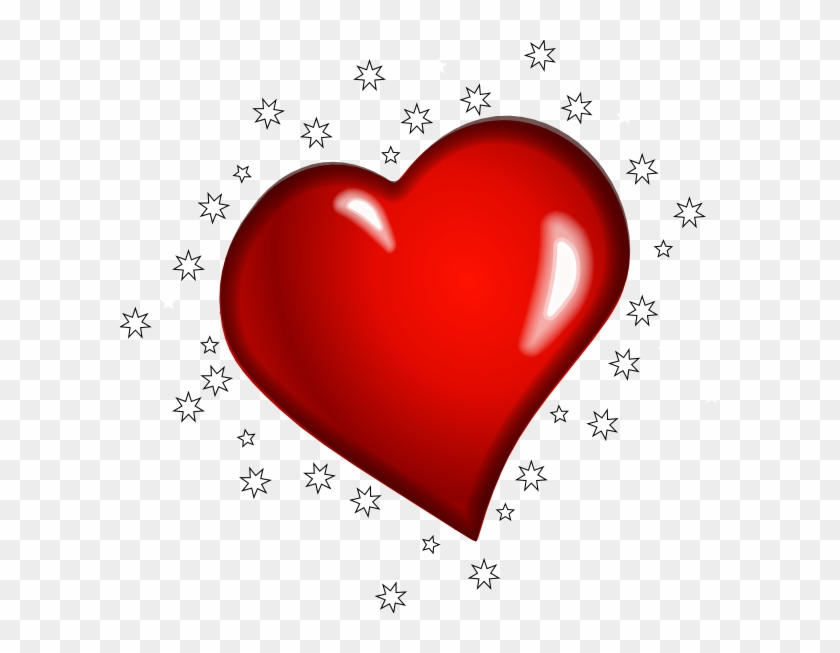 3d Red Heart Character Country Heart Free Transparent Png