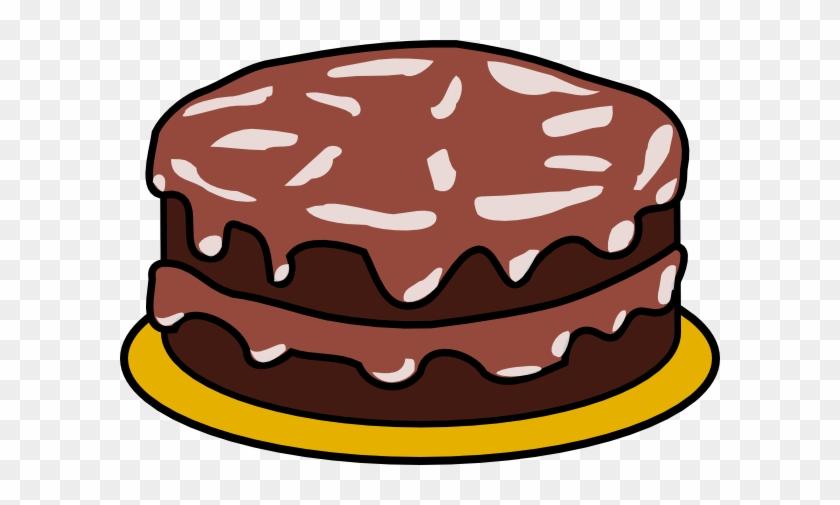 2 Cups Flour Cup Cocoa Powder Teaspoon Salt 1 Teaspoons - Birthday Cake Clip Art No Candles #364191