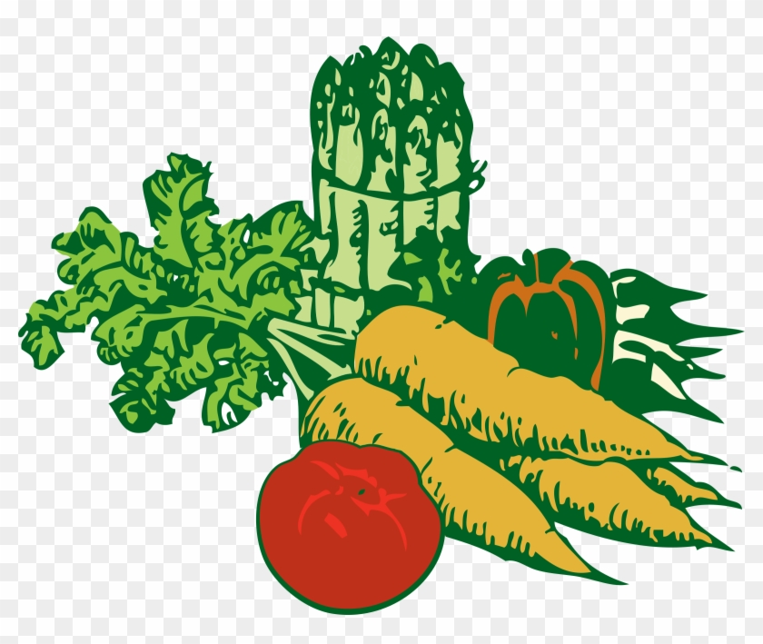 Free Png,logo,coloring Pages Market Clipart - Vegetable Garden Clipart #364218