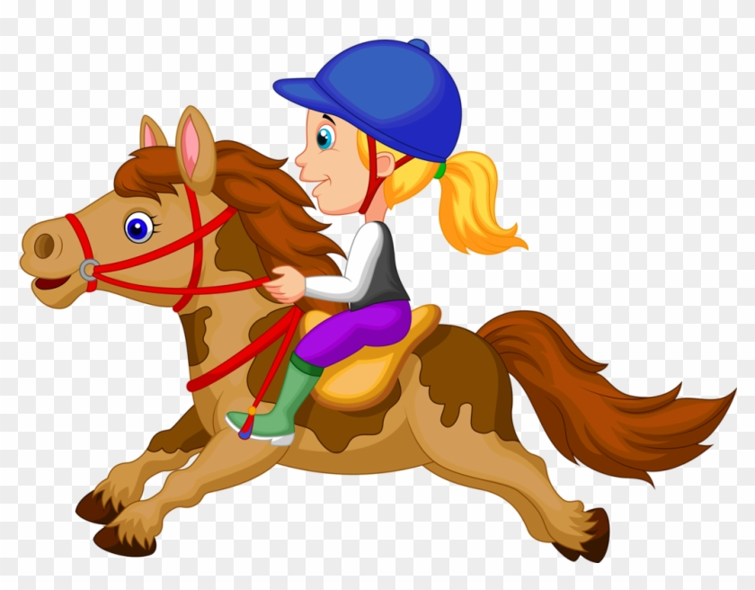 Our Instructors Are Friendly And Patient - Horse Riding Clipart #364263
