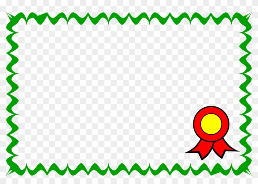 Flowers Borders Png 25 Buy Clip Art Certificate Clipart Free