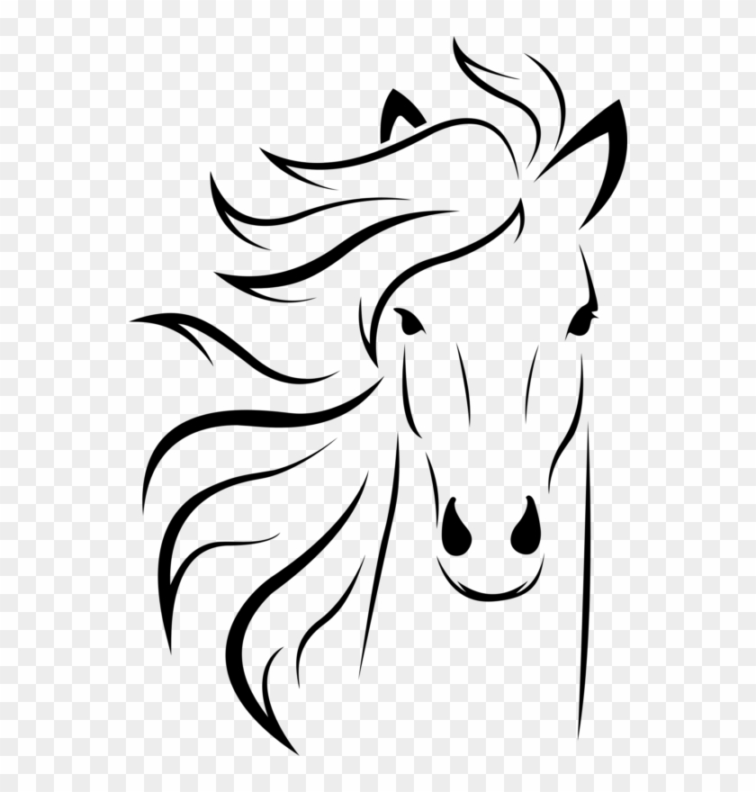 See Here Free Horse Clipart Black And White Images Dessin De