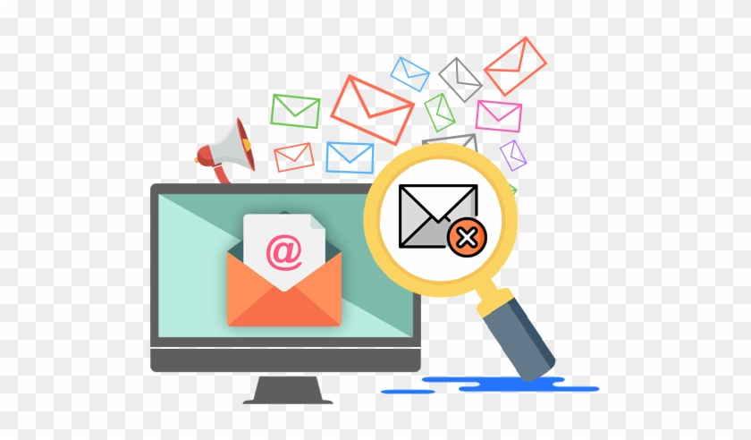 Sparkemail Design Offers The Email List Cleaning Service - Computer Monitor #365476