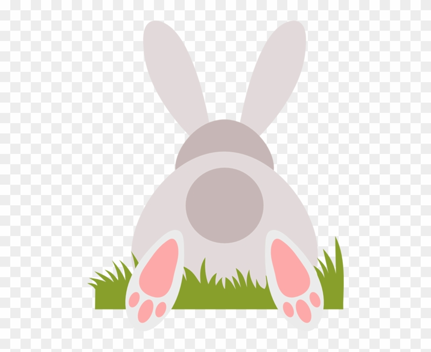 Easter Bunny From Behind #365727