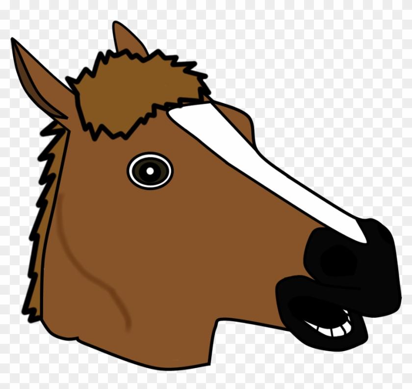 Horse Png Horse Head Mask Vector Free Transparent Png Clipart