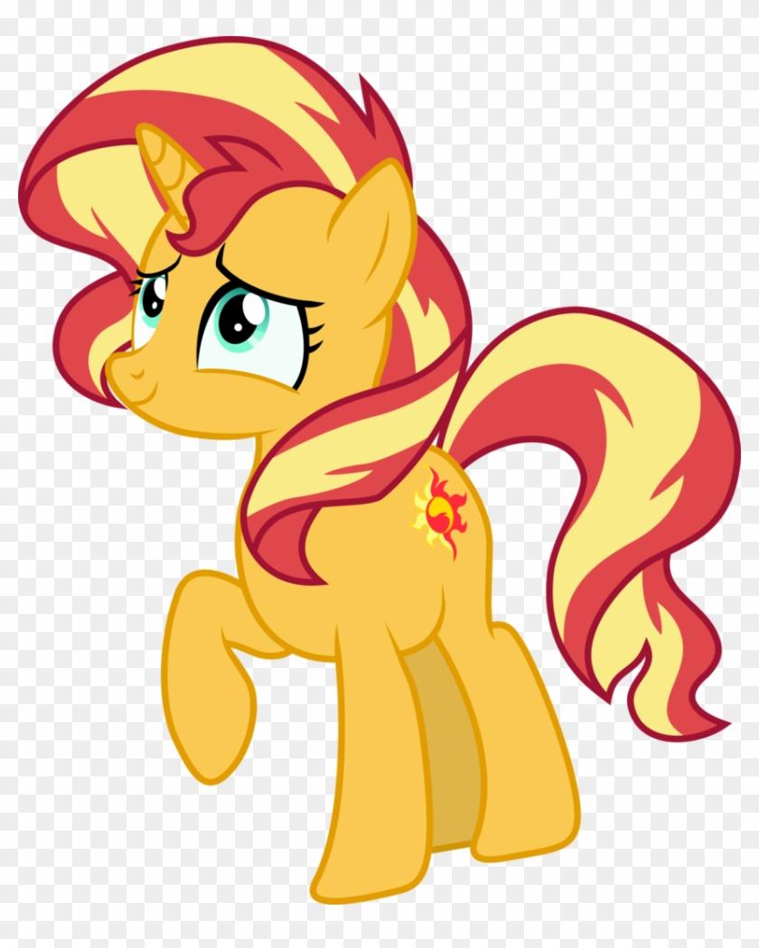 Absurd Res, Artist - My Little Pony Sunset Shimmer Pregnant #366043