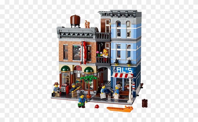 Picture Of 10246 Detective's Office Picture Of 10246 - Lego Modular Detective's Office #367089
