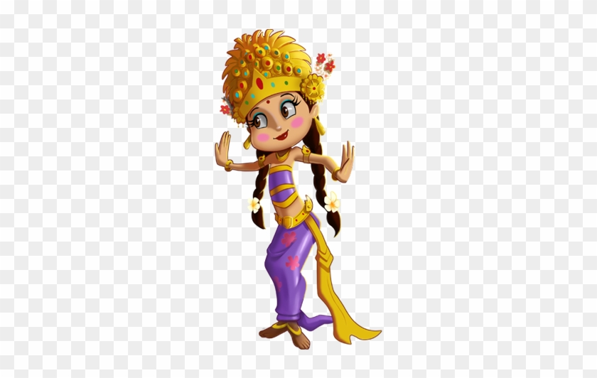 Chutki Is A Seven Year Old Girl, Who Is Simple, Graceful - 3-in-1 Book Of Chhota Bheem #367731
