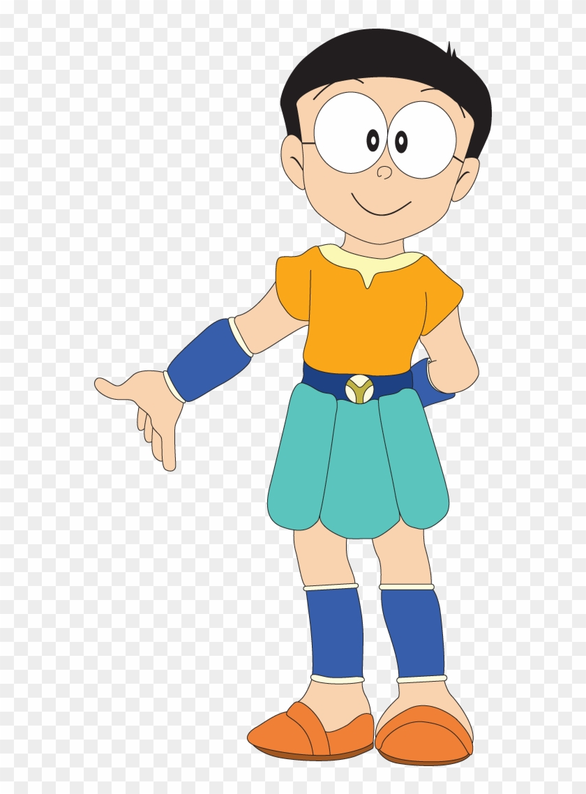 Nobita In Beautiful Dress Nobita Free Transparent