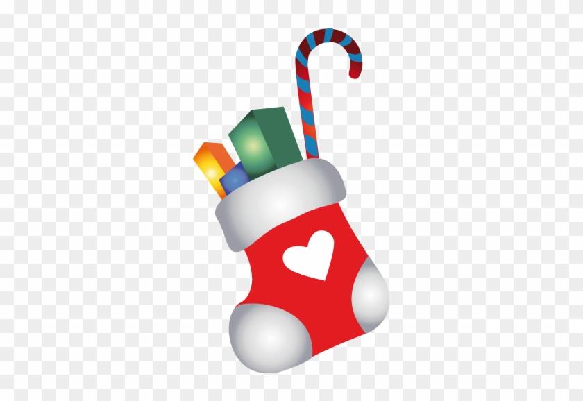 Christmas Socks Icon - Christmas Socks Travel Mug #368026