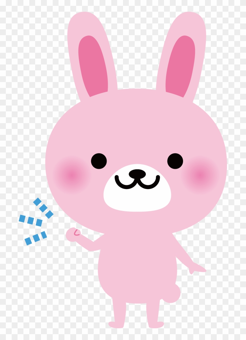 Rabbit Gratis Photography Fist Pump Illustration うさぎ イラスト 無料 かわいい Free Transparent Png Clipart Images Download