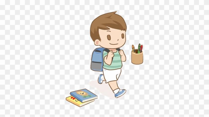 School Begins August 13th, - First Day School Cartoon #368748