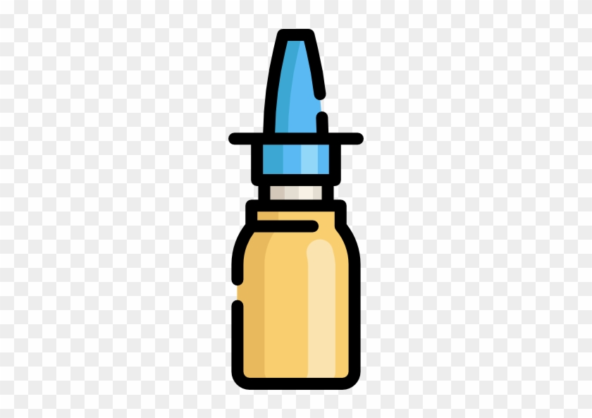 Nasal Spray Free Icon - Nasal Spray #369317