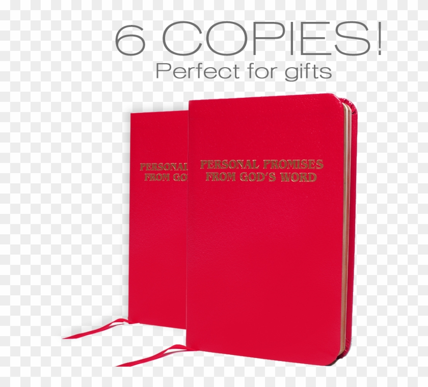 27 Jun 6 Copies Of Personal Promises From God's Word - Book Cover #369497