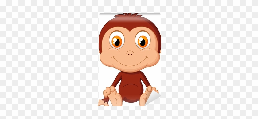 Vector Baby Monkey Hd #369732
