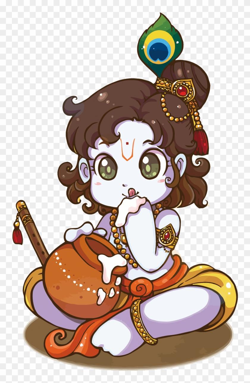 Krishna Janmashtami Iskcon Temple Bangalore Drawing Krishna Radha Cartoon Images Png Free Transparent Png Clipart Images Download