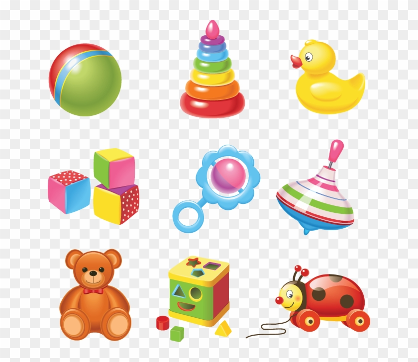 642 Baby Toys Toys Vector Free Download Free Transparent Png