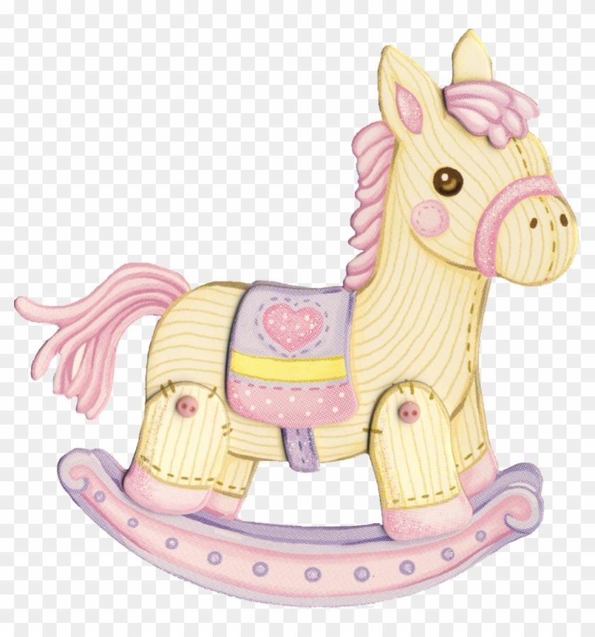 Babies Room - Pink Rocking Horse #370003