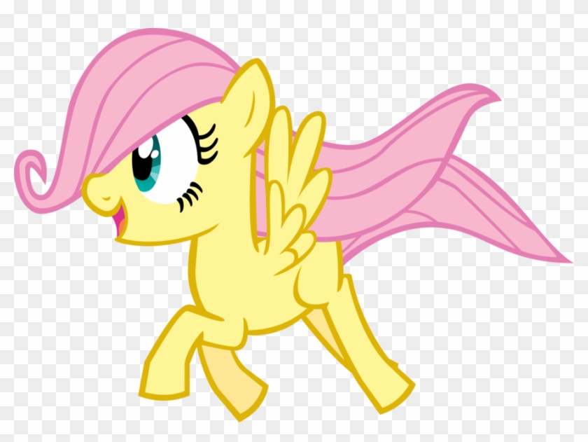 Fanmade Fillyshy In Flight By Chromadancer - My Little Pony Young Fluttershy #370976