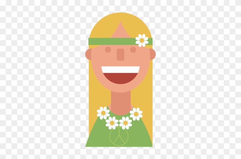 Woman Clipart Hippy - Mujer Hippie Png - Free Transparent PNG ...