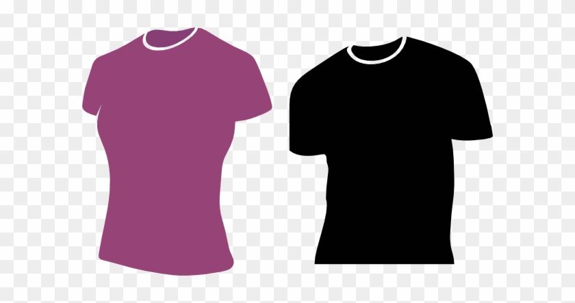 Female Tshirts Clip Art - Female Shirt Clip Art #371299