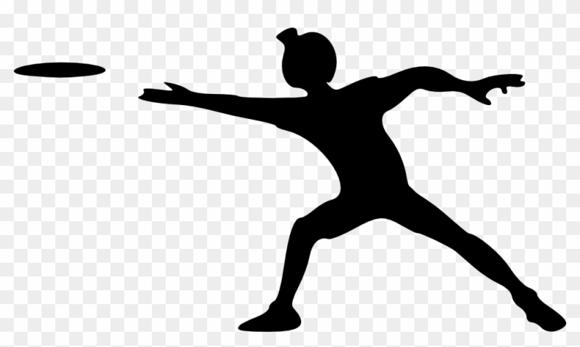 Onlinelabels Clip Art Person Throwing A Frisbee Free Transparent