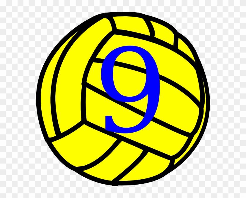 Volleyball Clip Art - Love Volleyball Svg #371796