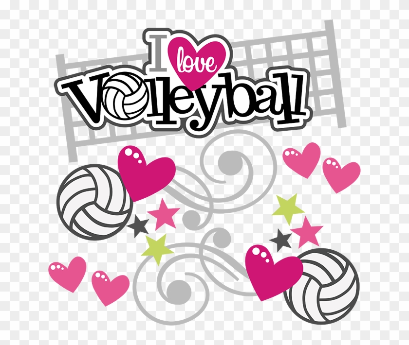 I Love Volleyball - Love Volleyball #371819