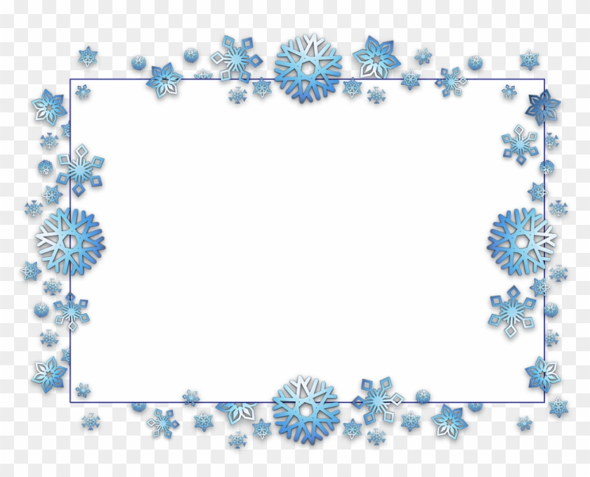 Free Christmas Clipart Borders Frames Transparent PNG
