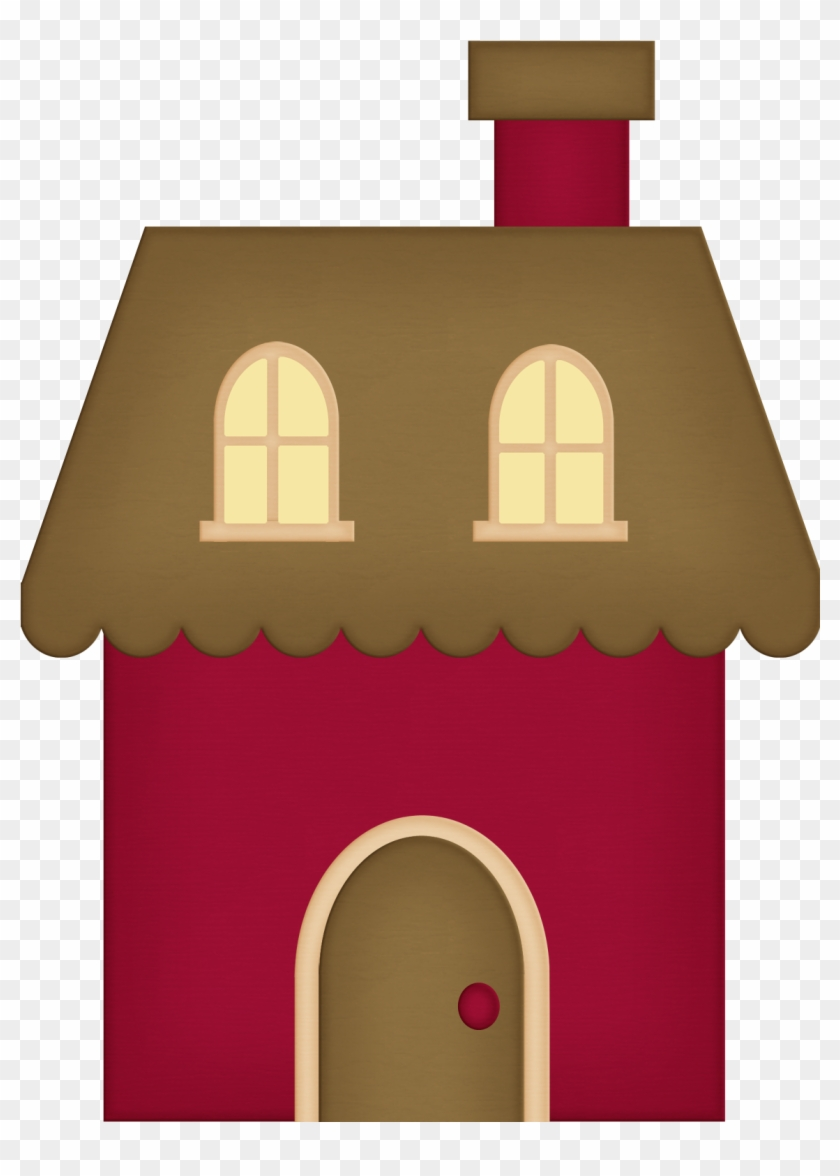 House Address, Pigs, Clip Art School, Felt Stories, - Little Red Riding Hood House Clipart #371998