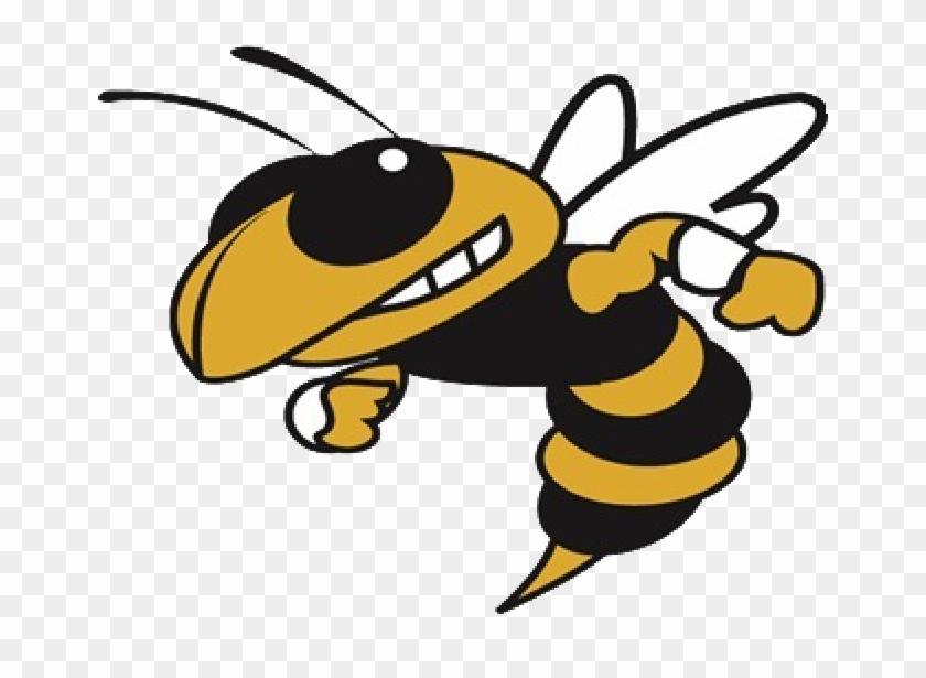 Hornet Clipart Volleyball - Georgia Tech Yellow Jackets #372055
