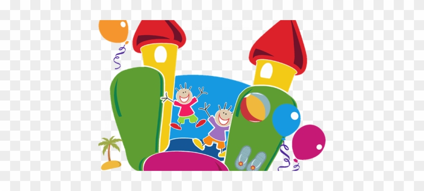 Bounce House Clip Art Free - Fun Day Poster Template #372189