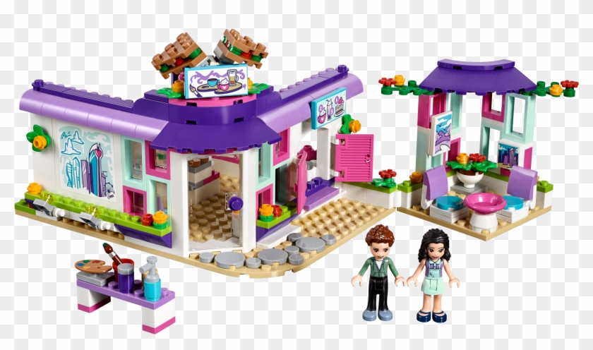 Emma's Art Cafe - Lego Friends Emmas Art Cafe #372278