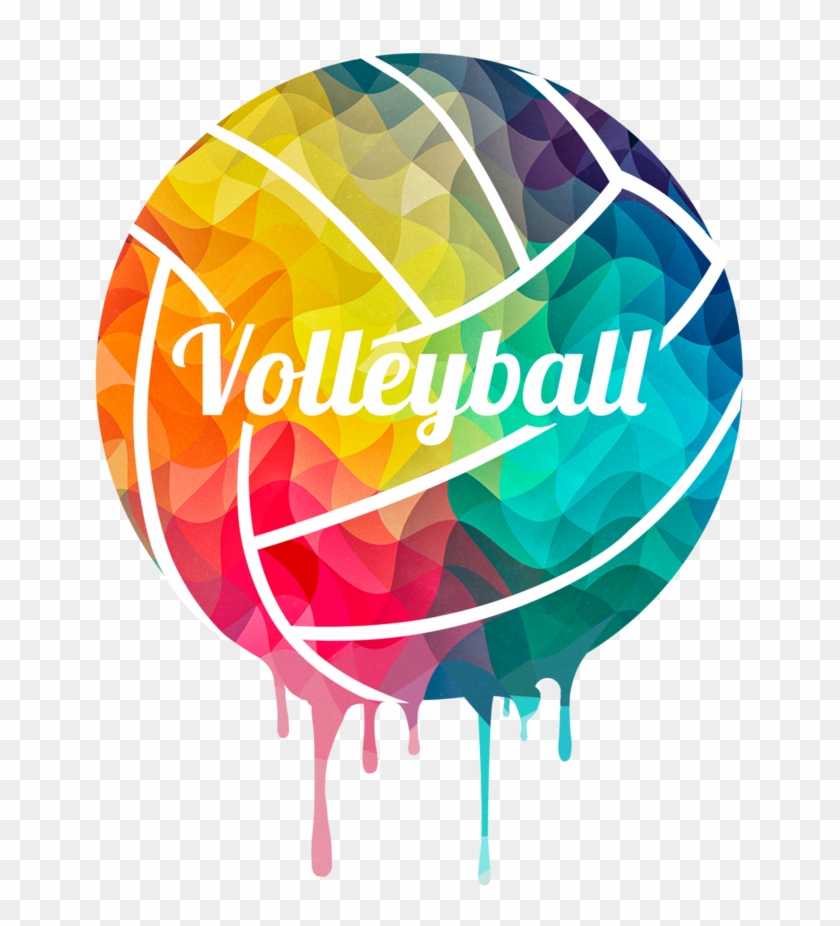 Colortwist Volleyball Shirt - We Love Volleyball #372370