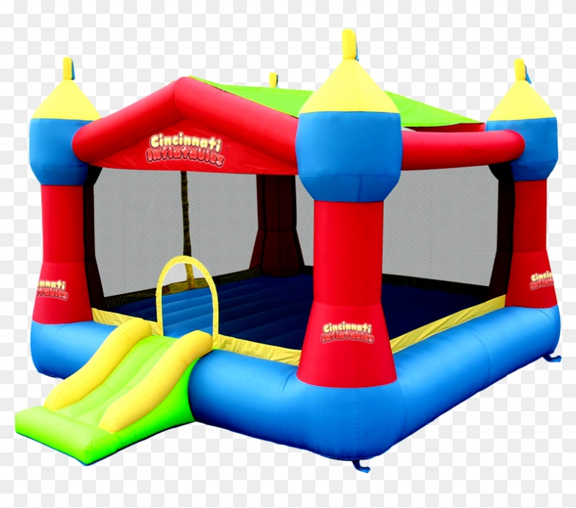 Explore Inflatable Bounce House And More - Bounceland Party Castle Bounce House #372493