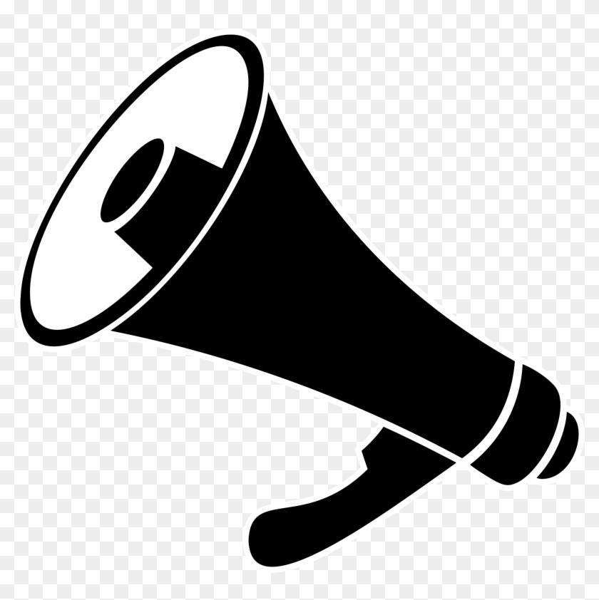 Bullhorn Communication Megaphone Shouting - Megaphone Clipart #372619
