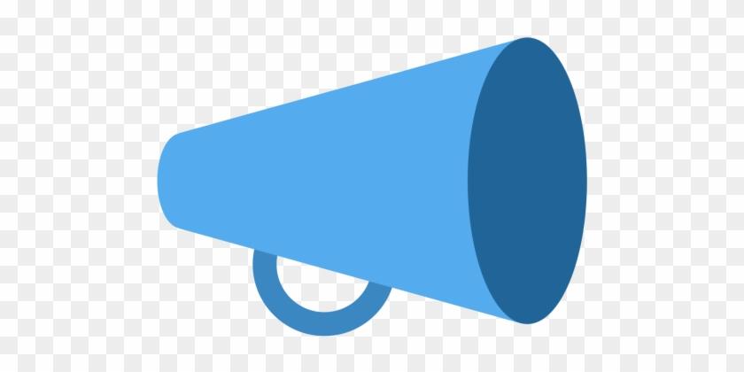 Megaphone, Cheering, Loud, Speaker, Marketing Icon - Megaphone Emoji #372635