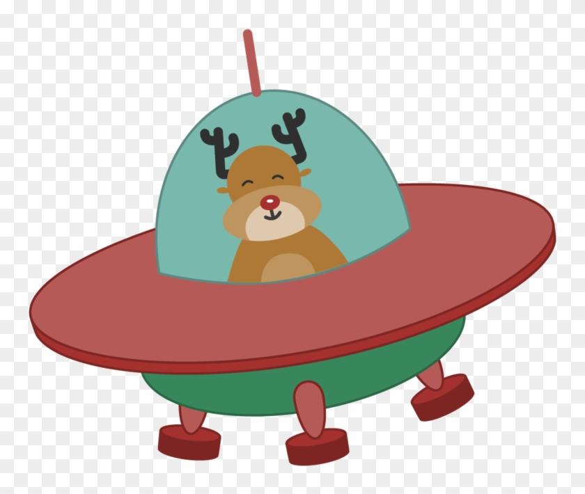 Ufo Illustration Elenapotter - Unidentified Flying Object #372784