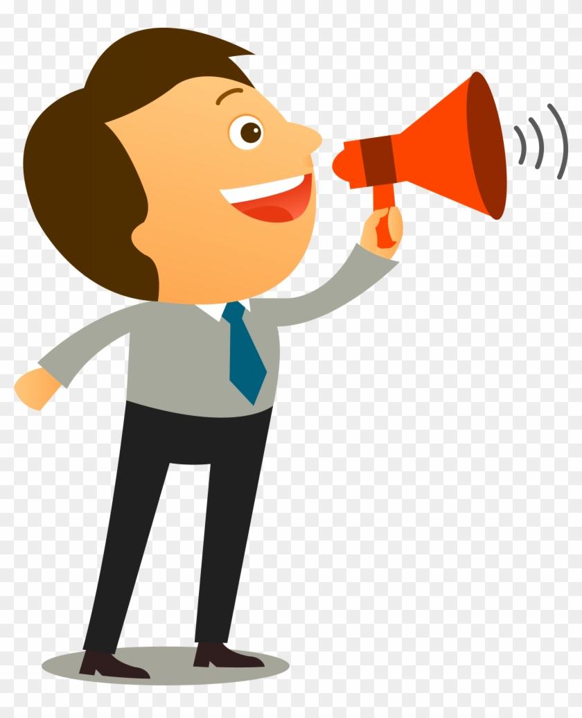 Assertiveness Communication Coaching Interpersonal - Pessoa Com Megafone Png #372887