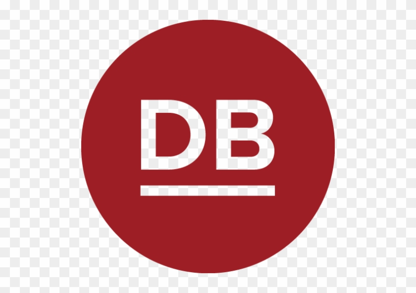 Cropped Db Circle Logo Fill Red - Youtube Logo #373041