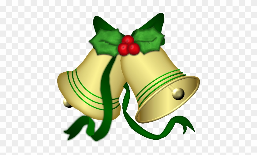 Christmas Bells, Merry Christmas, Le'veon Bell, Clip - Merry Christmas Flowers Png #373180