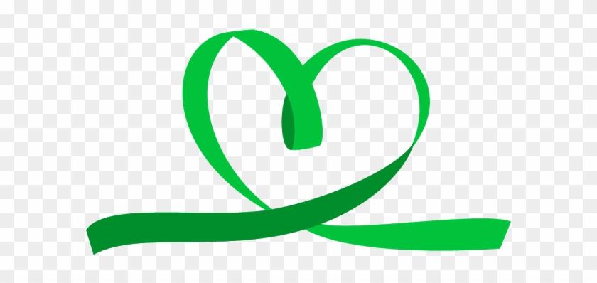 Ribbon Green Ribbon Mental Health Free Transparent Png Clipart Images Download