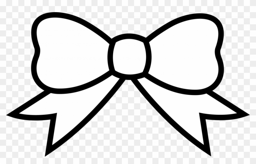 Bow Hearts Coloring Page Clip Art Sheet Of A Tie Free - Bow Coloring ...