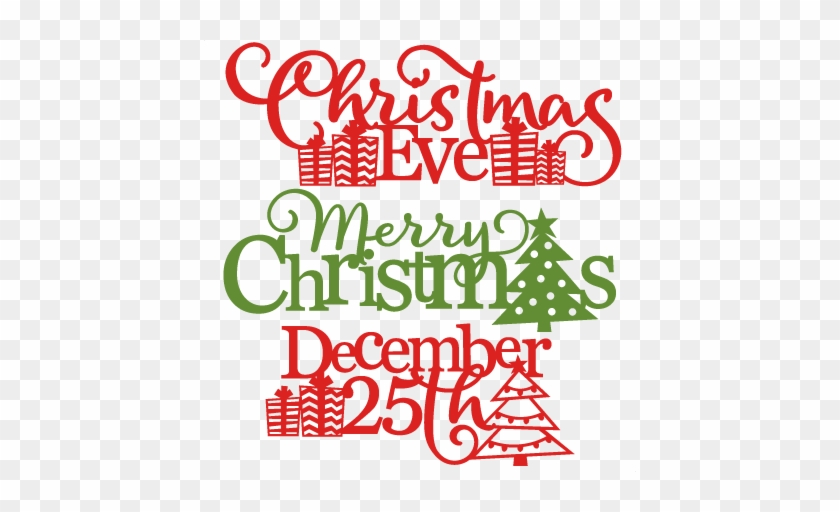 Christmas Phrases Svg Scrapbook Cut File Cute Clipart - Merry Christmas Miss Cute #373386