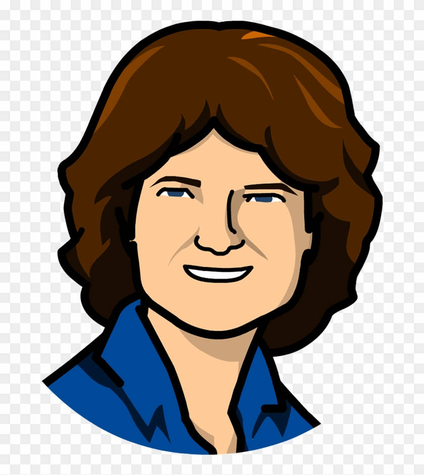Time Zone X - Sally Ride Clipart #373405