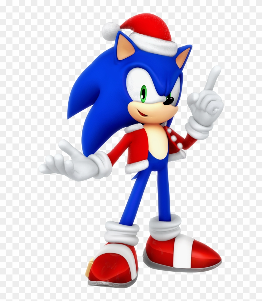 Christmas Mario Png.Sonic Santa Christmas 2017 Render By Nibroc Rock Sonic