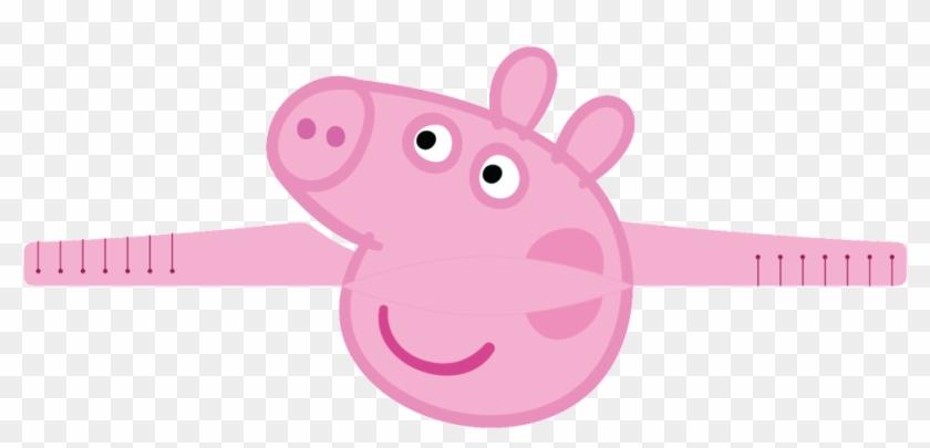 Peppa Big Carnavalsmaskers - Peppa Pig Mini Figurine Set #373639