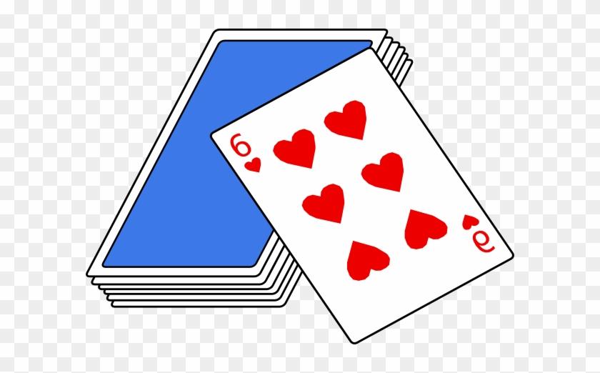 Deck Clipart Friends House - Card Game Clip Art #373675